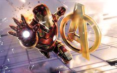 Download wallpapers Iron Man, 4k, art, superheros, The Avengers