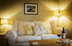 http://luxuryspringcottageyorkshire.co.uk/ Relax on the squishy sofas in the lounge, glass of wine in hand, after a busy day exploring #northyorkmoorscottage