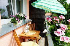 mały balkon w  bloku aranżacja