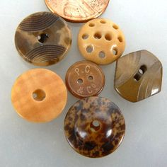 antique vegetable ivory buttons - Google Search
