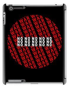 No War iPad Case