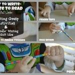 Play to Write - Write to Read: Week 7 Writing Grasp Activities & 'Wordle' Writing Gift Activity