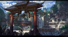 ArtStation - Rescue, G liulian