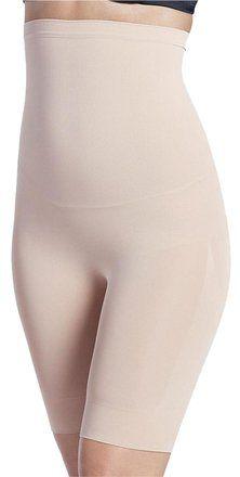 0fae583968e Beige Nude New Shapewear Mid-length High Waisted Slipshort Shaper Large.  Tradesy