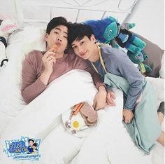 OffGun / Puppy Honey Love Gun, Gay Couple, Asian Love, Series Movies, Guns, I Love You, Love Sick, Lovers, Couple Photos