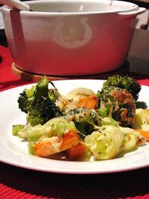 Tipikus Flammeres: Tél, napsütés, meg valami vega Chicken, Meat, Food, Essen, Meals, Yemek, Eten, Cubs