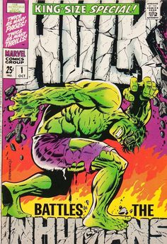 Cap'n's Comics: Hulk VS Inhumans by Jim Steranko