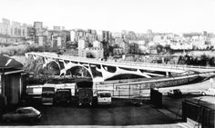 Sergio Musmeci, Ponte sul Basento, Potenza, 1967-76
