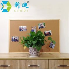 Free Accessories 60*90cm Message Wood Frame Bulletin Cork Board Office & School SuppliesFactory Direct Sell Home Decorative