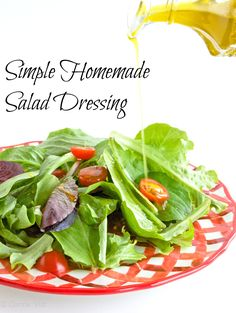 The Unprocessed Kitchen: Step 5 - Salad Dressing