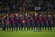 FC Barcelona - Celta: minuto de silencio por el fallecimiento de Biosca FOTO: Pere punti