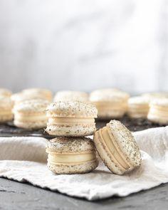 Lemon Lavender French Macarons - Kitchen 335