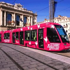 Montpellier : bientôt un tramway rose French Tech dans la ville !