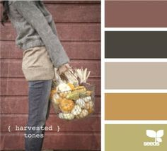 Love these harvested tones too, design-seeds you are making it hard to decide ! Colour Pallette, Colour Schemes, Color Patterns, Color Combos, Design Seeds, Wall Colors, House Colors, Paint Colors, Mood Colors