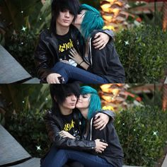 Alex Dorame and Johnnie Guilbert