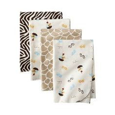 Tiddliwinks Noah's Ark 4pk Receiving Blankets <--- Target