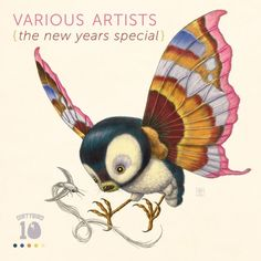 Psychornis Leucopsis > Various Artists - The New Years Special (DB-131) Art by Raoul Deleo