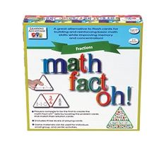 Math-Fact-Oh!™ Fractions for Grades 3+