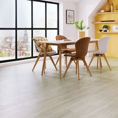 Karndean flooring dining shot