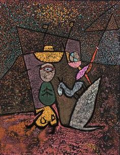 The Travelling Circus - Paul Klee 1940