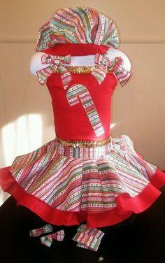 National Pageant Casual Wear Dress. Christmas  Holiday  Size 3-5t #Handmade #DressyEverydayHoliday