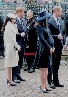 The Duke and Duchess of Cambridge attend The Commonwealth Day Service at Westminster Abbey on March 12,2018.
