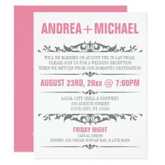 diy custom save the date postcard after the destination wedding at