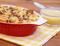 Bread Pudding with Whiskey Sauce (this entire website has southern classic desserts scaled down to size)