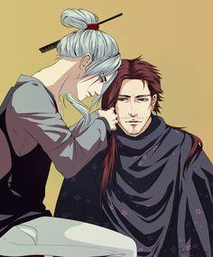 Bleach - Shunsui Kyouraku & Juushiro Ukitake: gotta admit, I can see them trying this