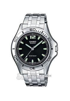 Ceas Casio Collection MTP-1258D-1AEF Gents Watches, Rolex Watches, Bb Shop, Casio Quartz, Casio Classic, G Shock, Casio Watch, Omega Watch, Bracelet Watch