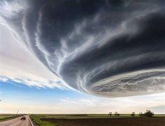 Orage au Texas