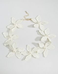 Image 1 of Limited Edition Occasion Flower Choker Necklace
