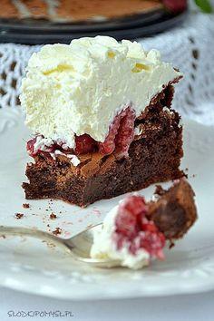 Malinowy Wulkan Torte Recipe, Polish Recipes, Food Cakes, Vegan Sweets, Cookie Desserts, Cake Recipes, Sweet Tooth, Sweet Treats, Food Porn