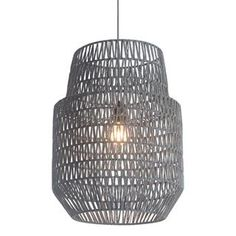Check out the Zuo 50209 Daydream 1 Light Ceiling Pendant in Gray