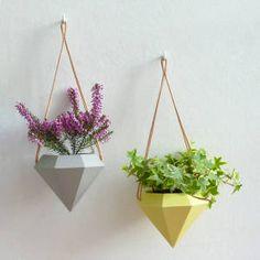 Attnstudio | Diamond hanging planter