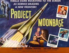 Project Moon Base (Aka Project Moonbase) Poster Art 1953 Movie Poster Masterprint (14 x 11)