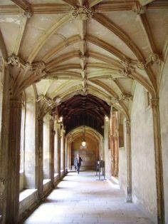Christ Church cloister
