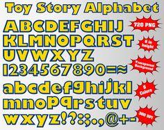 Toy Story Full Alphabet Numbers and Symbols 720 PNG 300 Abc Cartoon, Cartoon Styles, Cowboy Birthday Party, 3rd Birthday Parties, Alphabet And Numbers, Alphabet Letters, Toy Story Birthday, Clip Art, Toys