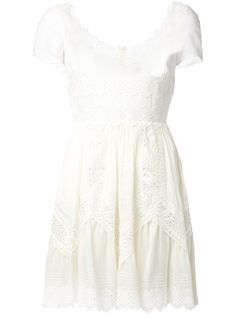 Valentino Lace Panel Dress - Just One Eye - Farfetch.com