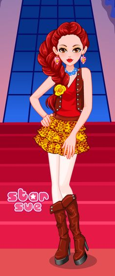 Next Fairy Tale High Game : Teen Belle Dress Up Game ;)