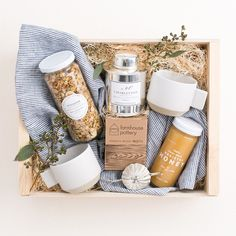 Corporate Gifts for this Holiday Season! This holiday gift basket is perfect for clients, neighbors or hostess gifts!This holiday gift basket is perfect for clients, neighbors or hostess gifts! Mother's Day Gift Baskets, Holiday Gift Baskets, Themed Gift Baskets, Gift Hampers, Holiday Gifts, Raffle Baskets, Yoga Gift Basket, Gift Basket Ideas, Hamper Ideas