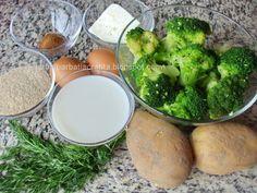 Budinca de broccoli cu cartofi Ingrediente