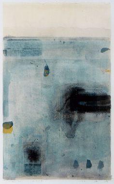 D-16.Nov.2001 painting, collage on Washi 林孝彦 HAYASHI Takahiko 2001