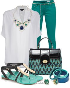 """""""Style the Blouse"""" by christa72 ❤ liked on Polyvore"""