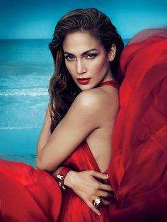 Jennifer Lopez for Vogue