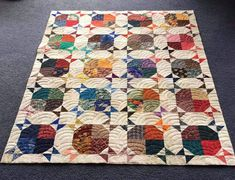 Circle Quilts, Star Quilts, Scrappy Quilts, Baby Quilts, Quilt Blocks, Paper Piecing Patterns, Quilt Patterns, Sewing Patterns, Quilting Ideas
