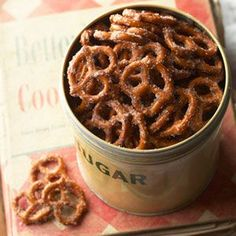 Cinnamon pretzels - Simple and tasty!