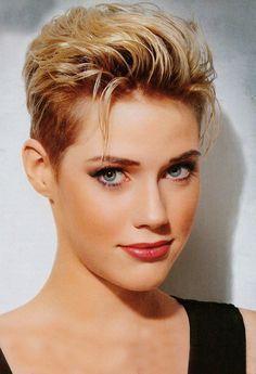 Wow schöne Kurzhaarschnitten für Blondinen! - kurzhaarfrisuren Frauen