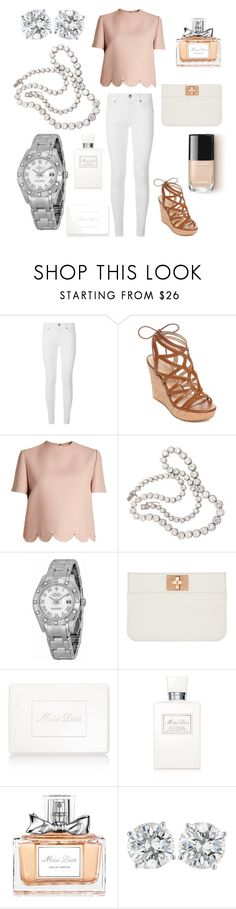 """""""Chic"""" by miss-sagittarius ❤ liked on Polyvore featuring Burberry, GUESS, Valentino, Rolex, Joop! and Christian Dior"""