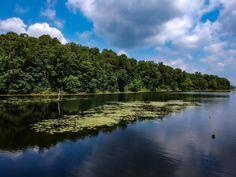 Hedgesville, West Virginia, Sleepy Creek lake. West Virginia